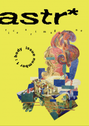 Samperio also co-founded art and design magazine astr* with fellow Rice undergrads.