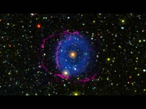Blue Ring Nebula animation