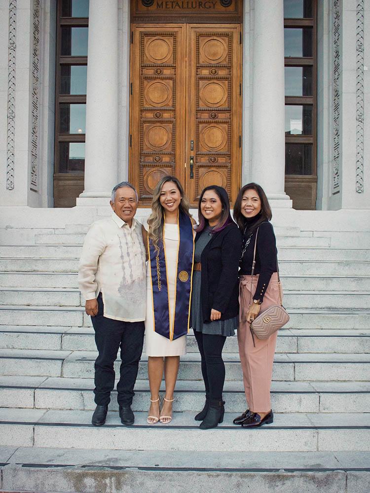 Katalina Cortez and family