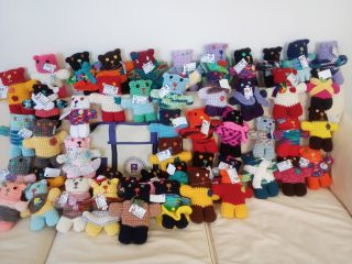 AMC Knitted Bears for Knitting Without Borders